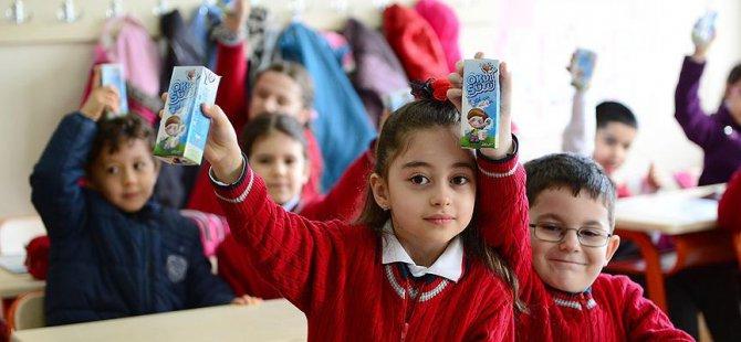Okul Sütünden 6 Milyon 12 Bin Öğrenci Yararlanacak