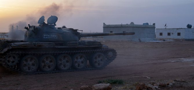 Direnişçilerin Hama'daki İlerleyişi Sürüyor