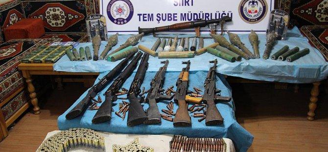 PKK'nın Silahları Cami ve Mezarlıktan Çıktı