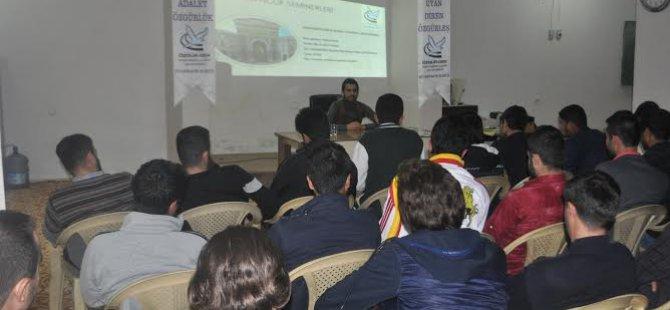 Diyarbakır Özgür-Der Gençlik Seminerleri Başladı