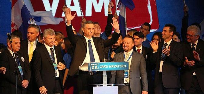 """Hırvatistan'da Seçimin Galibi """"Vatansever"""" İttifakı"""