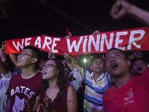 Myanmar'daki Genel Seçimi Muhalefet Partisi Kazandı