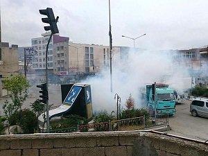 Cizre'de Polise Eş Zamanlı Saldırı