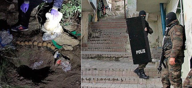 Bombalı Saldırı Hazırlığındaki 3 PKK'lı Yakalandı