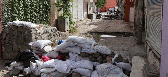 Diyarbakır'ın Sur İlçesinde Sokağa Çıkma Yasağı