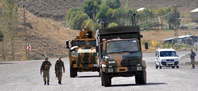 Diyarbakır'da Askerî Aracın Geçisi Sırasında Patlama