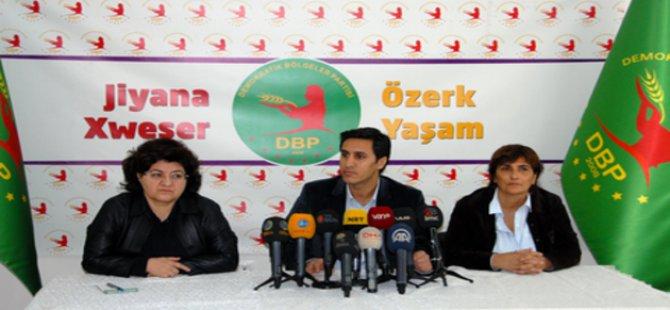 DBP'den HDP'ye Eleştiri: Kimi Tutumlarını Kabul Etmiyoruz