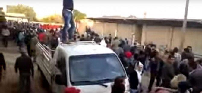 Suriyeli Kürtlerden PYD Karşıtı Protesto