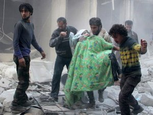 Rus Hava Saldırısında 10 Sivil Yaşamını Yitirdi