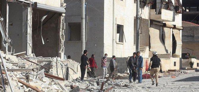 Rus Uçakları Halep'te Sivilleri Vurdu: 15 Ölü, 50 Yaralı