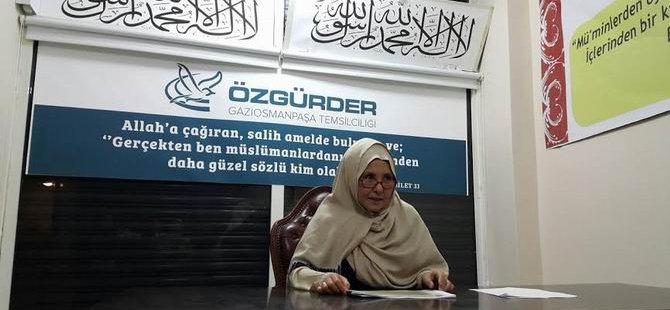 Özgür-Der Gaziosmanpaşa'da D. Türkistan Konuşuldu