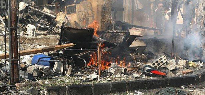 Rus Uçakları Suriye'de Sivilleri Vurdu: 10 Ölü