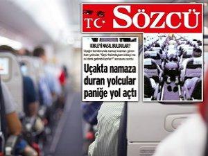 Sözcü Gazetesi'nin Namaz Nefreti
