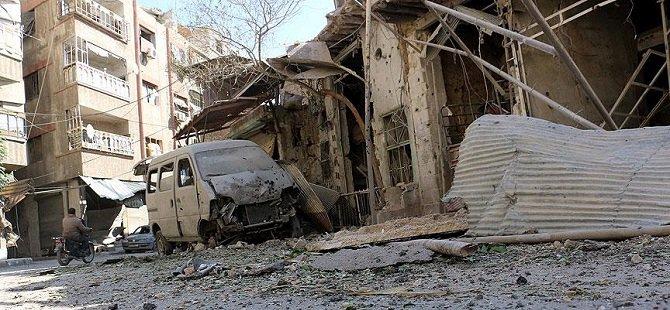 Esed Rejimi Doğu Guta'ya Saldırdı