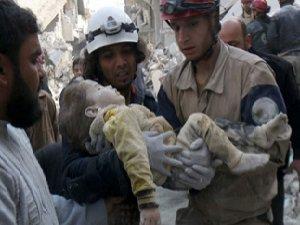 Rus Bombardımanı Çocukları Vurdu (VİDEO)
