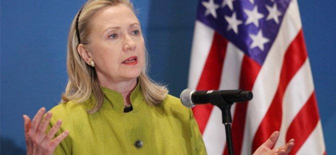 Clinton'dan 'Uçuşa Yasak Bölge' İstemi