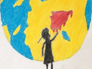 Suriyeli Çocukların Gökyüzü Kan Kırmızı