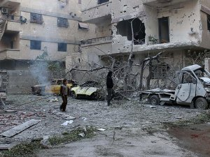 Esed Güçlerinden Şam'da Saldırı: 6 Sivil Öldü