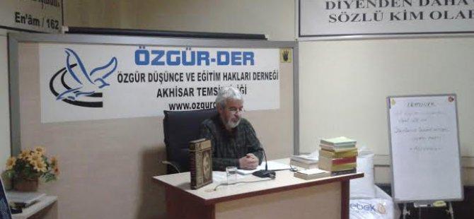 ''Ercüment Özkan, İktibas Dergisi ve İslami Parti''