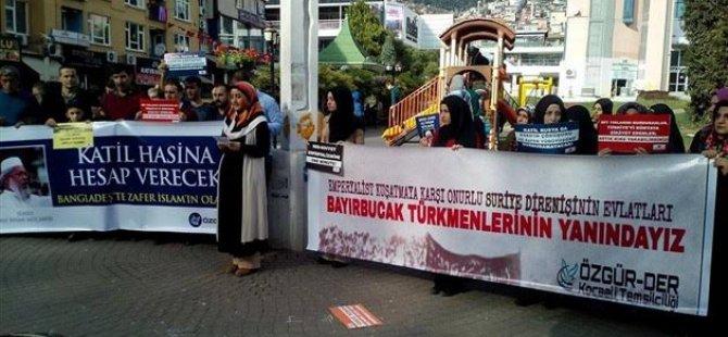 Hasina ve Emperyalist Rusya Kocaeli'de Protesto Edildi!
