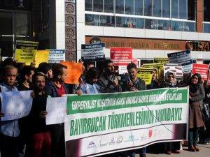 Selçuk Ünv. Öğrencilerinden Rus Saldırılarına Protesto