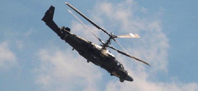 """Rusya Savunma Bakanlığı: """"IŞİD Helikopter Düşürdü: 2 Rusyalı Pilot Öldü"""""""