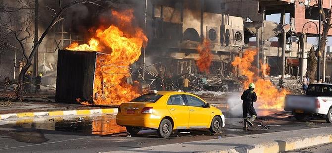 Bağdat'taki Patlamalarda 7 Kişi Hayatını Kaybetti