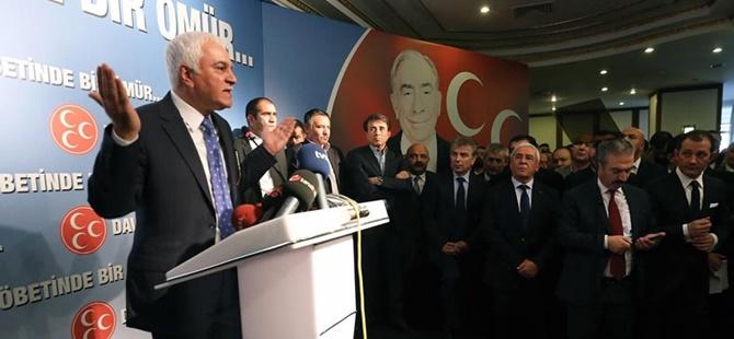 MHP'li Koray Aydın Genel Başkanlık İçin Adaylığını Açıkladı