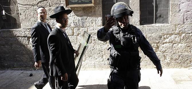 Yahudi Yerleşimciler Mescid-i Aksa'ya Girdi!