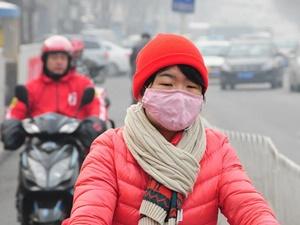 Pekin'de Hava Kirliliği Turuncu Alarma Çıkarıldı