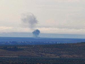 Rus Uçaklarından Azez'e Bombardıman