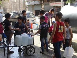"""""""1,4 Milyondan Fazla Suriyeli Suya Erişimde Sıkıntı Yaşıyor"""""""