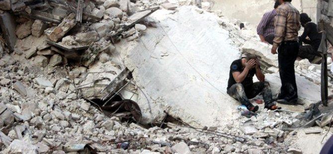 Rus Ordusu Halep'i Vurdu
