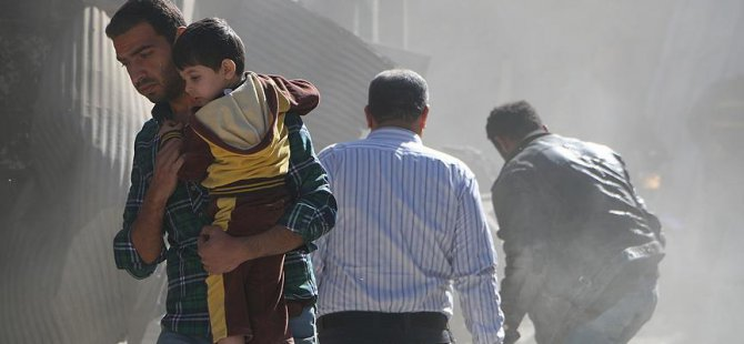 Rusya Suriye'de Sivillere ve Yardım Araçlarına Saldırdı: 25 Ölü