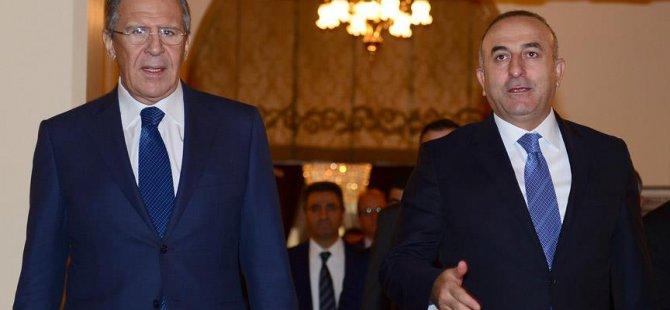 Çavuşoğlu, Lavrov İle Belgrad'da Görüştü
