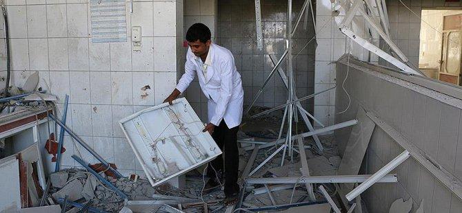 Husiler Taiz'deki Sevre Hastanesini Bombaladı