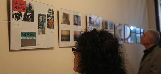 """Arjantin'de """"Filistin Kartpostalları"""" Sergisi Açıldı"""