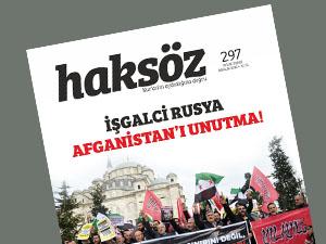 Haksöz Dergisinin Aralık 2015 Sayısı Çıktı