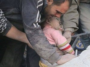 Rus jetleri Rakka'da Sivilleri Vurdu