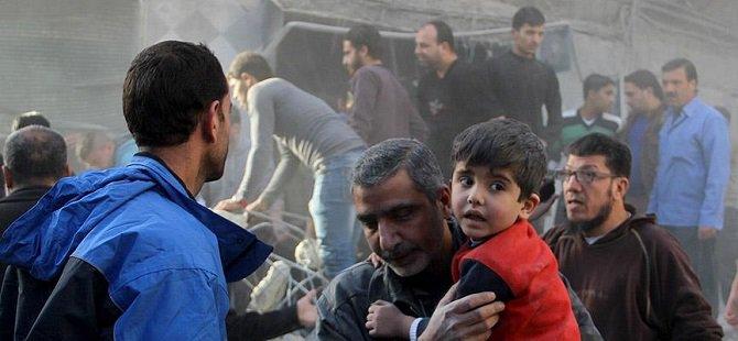 Rus Savaş Uçakları Halep'te Sivilleri Vurdu