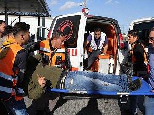 İsrail Polisi Batı Şeria'da Bir Filistinliyi Vurdu