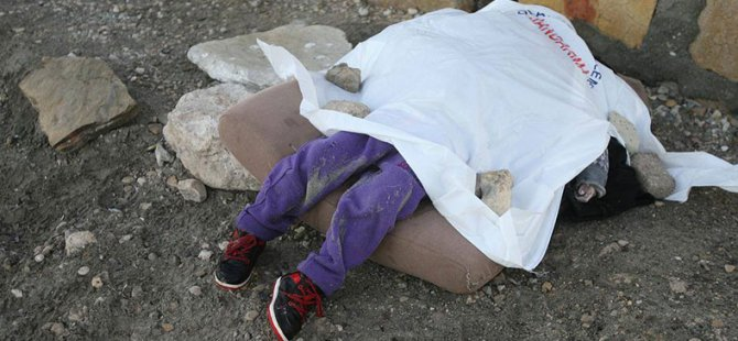 Çeşme Sahiline Bir Çocuk Cesedi Daha Vurdu!