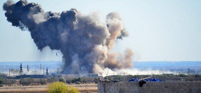 Suriye'de ABD Uçaklarının Saldırısında 37 Sivil Öldü