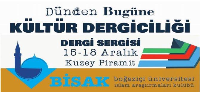 """BİSAK'dan """"Dünden Bugüne Kültür Dergiciliği"""" Etkinliği"""