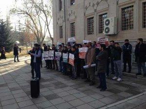 Kayseri'de Solcu Grupların İslam Düşmanlığı Protesto Edildi