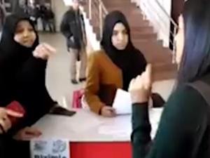 Eskişehir'de Müslüman Hanımlara Sol Saldırı!