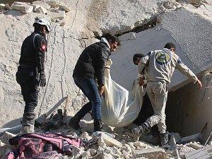 Rus Uçakları Halep'te Sivilleri 'Vakum Bombası' İle Vurdu