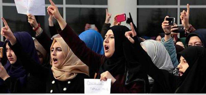 Eskişehir'de Standa Saldırı Protesto Edildi