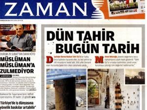 """""""Zaman, Cami Yakan PKK'yı Kolluyor"""""""