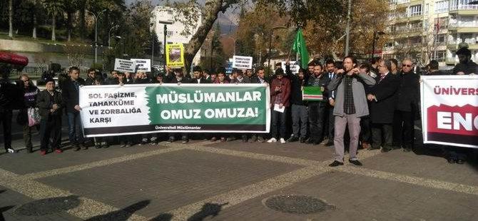Sol-Sosyalist Saldırılar Kahramanmaraş'ta Protesto Edildi